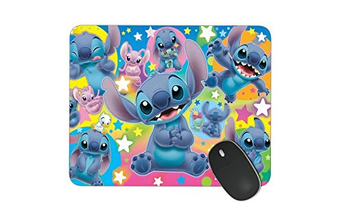 JNKPOAI Stitch Mouse Pad Personalized Custom Mouse Pad Office Anti-Slip Game Mouse Pad Souvenir Mouse Pad (Stitch)