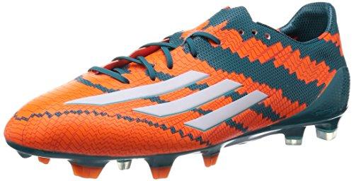 adidas Herren Messi Mirosar10 10.1 FG Fußballschuhe, Orange (Power Teal F14/Ftwr White/Solar Orange), 46 2/3 EU