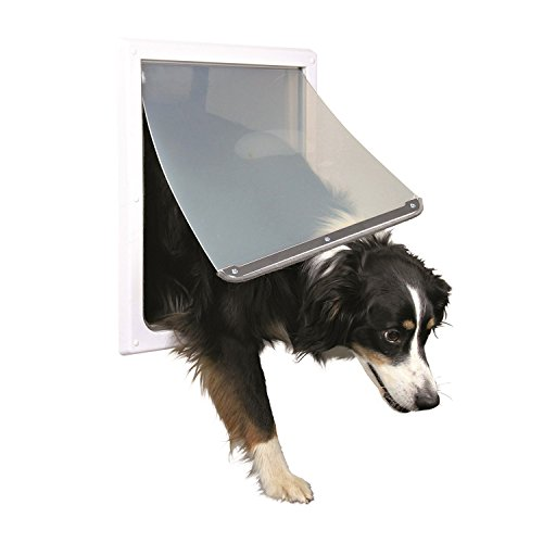 Trixie Pet Products 2-Wege-verriegelbare Hundetür,...