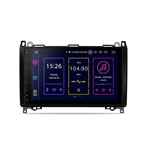 "XTRONS 9 ""Android 10 Autoradio Qualcomm Bluetooth 4G + 64G 8-Kern-GPS-Navigation Autoradio-Unterstützung Plug & Play CarAutoPlay WiFi TPMS OBD DVR DAB+ für Mercreses-Benz W169 W245 W639"
