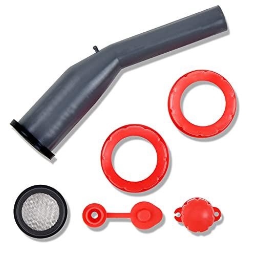 CM Concepts Universal Replacement Tough & Rigid Gas Can Spout (Multiuse)