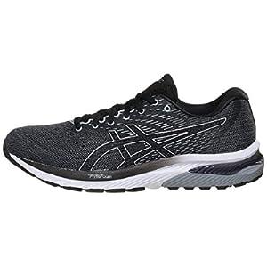 ASICS Men's Gel-Cumulus 22 Running Shoes, 8, Sheet Rock/Black