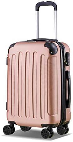 Maletas de viaje oro rosa