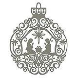 TankMR Adornos Navideños De Navidad, Troqueles De Corte De Metal, Plantilla De Plantilla En Relieve para álbum De Recortes DIY, Tarjeta De Papel, Arte, Decoración Artesanal...