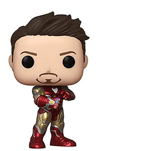 Ylmnku Figurines Pop Endgame Tony Stark # 529 10Cm Figurine poupée, Figurines Pop collectées modèle Jouets pour Enfants Cadeau de noël