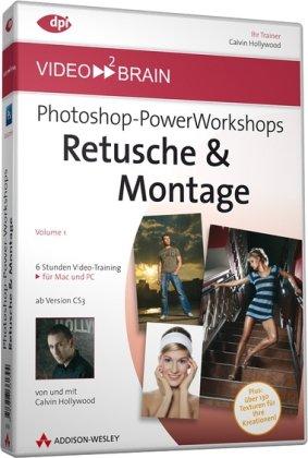 Photoshop-PowerWorkshops: Retusche & Montage (DVD-ROM)