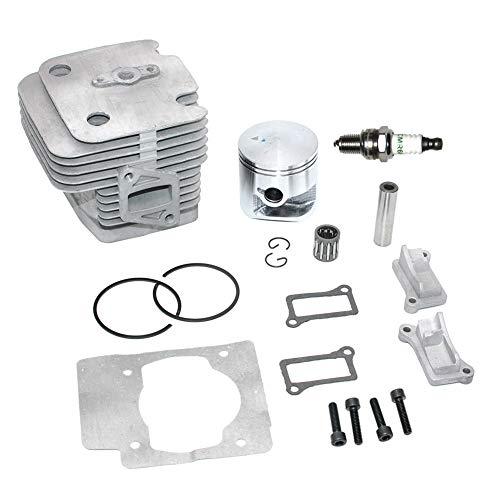 Kit de pistón de cilindro de 51mm para soplador de mochila Husqvarna 75.6cc 580BFS 578BTF 580BTS 578385001