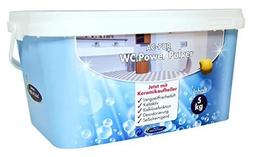 AQUA CLEAN PUR WC Power Pulver Kalklösefunktion 5kg neu mit & Keramikaufheller
