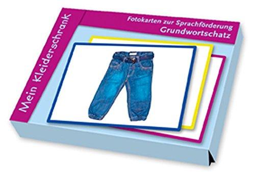 Fotokarten zur Sprachförderung Grundwortschatz: Mein Kleiderschrank