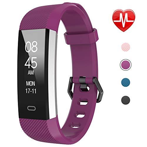 Fitpolo Montre Connectée Homme,Bracelet Connecté Femmes Podometre Cardio Enfant Smart Watch Android iOS Etanche...