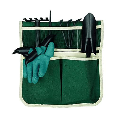 DHYED Trädgårdspall verktygspåse, vikbar trädgårdsväska för knä för trädgårdsarbete förvaringsväska, trädgårdsverktyg förvaringsväska sittbänk trädgård bil sida nätväska