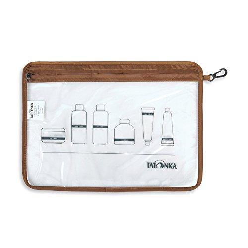 Tatonka Beutel Zip Flight Bag, transparent, 22 x 17,5 cm
