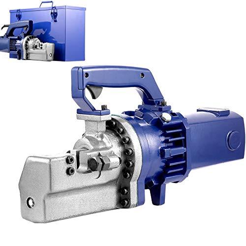 Happybuy Electric Rebar Cutter, 1.7KW 110V Electric Hydraulic Rebar Cutter with Adjustable Alloy Steel Blade Cut 1inch 25mm Rebar within 5 sec