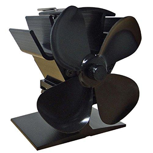 Fluesystems Mini Eco 4 Hitze betriebener Ofenventilator