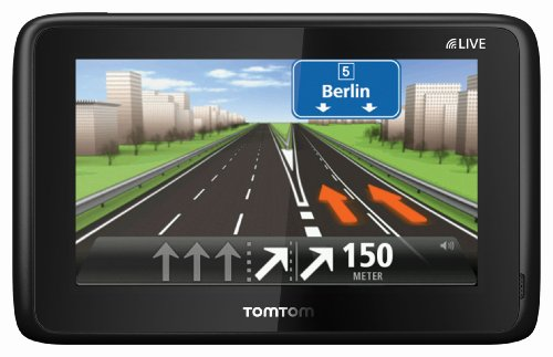 TomTom Go Live 1015 M Europe, FREE Lifetime Maps & 1 Jahr HD Traffic, 13 cm (5 Zoll) Fluid Touch Display, 45 Länder, HD Traffic, LIVE Services, Fahrspur- & Parkassistent, Sprachsteuerung, IQ Routes