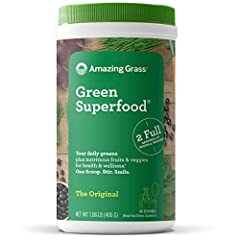 Our most popular blend thoughtfully combines our alkalizing farm fresh greens and wholesome fruits and veggies with nutrient-rich superfoods for a delicious way to feel amazing every day. Crafted with 7 alkalizing farm fresh greens. 3+ servings of gr...