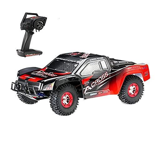 DBXMFZW 1/12 Scale Off-Road Control Remoto Control Car, 2.4G Camión eléctrico inalámbrico RC 4WD, vehículo RC Drifting RC con una Velocidad de 50 km/h, Anti-colisión y Anti-caída, Regalos para niños