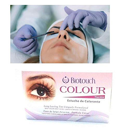 BioTouch Eye Lash Colour Tint Kit - Black Alabama