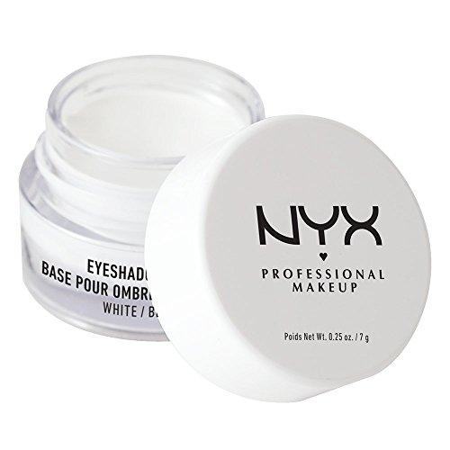 NYX Eye Shadow Base, White, 1er Pack (1 x 6 g)