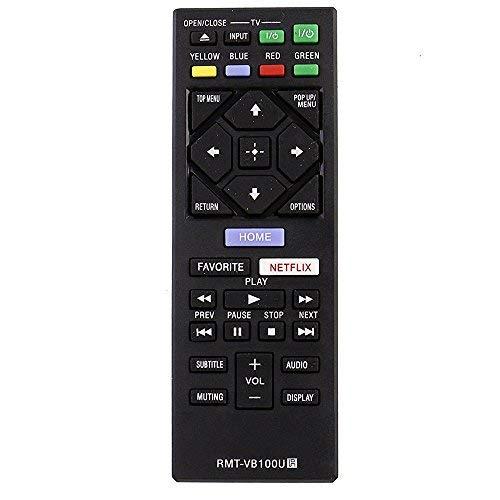allimity RMT-VB100U Sostituire il telecomando adatto per SONY BLU-RAY DISC Player BDP-S6500 BDP-BX150 BDP-BX550 BDP-BX350 BDP-S1500 BDP-BX650 BDP-S2500 BDP-S2900 BDP-S4500 BDP-S5500 BDP-S3500