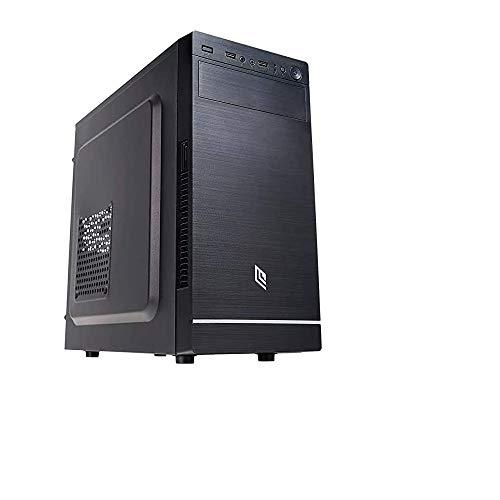 Pc desktop assemblato intel quadcore 2 Ghz,Ram 8gb,Ssd 240 Gb,Lettore masterizzatore,Windows 10,Computer fisso ufficio casa,Open Office,Antivirus,Pc desktop ssd