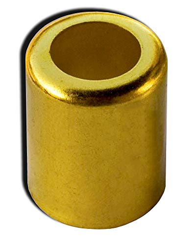 12 Pcs 0.750' ID x 1.0' Brass Hose Ferrule, Hose Crimping Ferrule, Crimp Tools Super-Deals-Shop