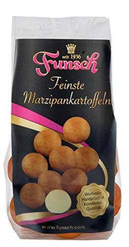 Funsch Marzipan Feinste Edelmarzipankartoffeln Traditionell in 90/10er Qualität, 5x100g = 500 g