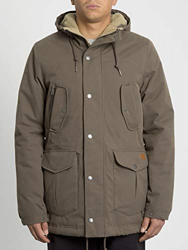 Volcom Starget 5k Parka, Herren M Braun (Major Brown)