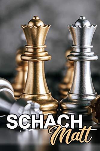 Schach Matt: Terminkalender Notizbuch Sport Schachbrett Schachfiguren König Springer Denksport Geschenk