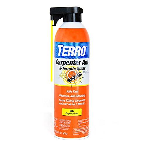 TERRO T1901-6 Carpenter Ant & Termite Killer, Orange