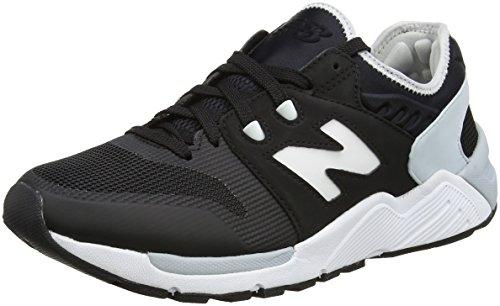 New Balance 009, Zapatillas Hombre, Negro (Black/White), 45 EU