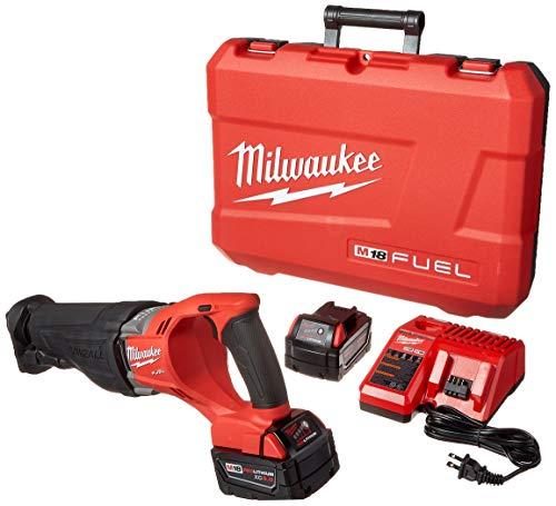 MILWAUKEE'S 2720-22 M18 Fuel Sawzall 2 Bat Kit