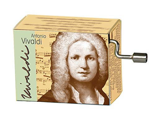 Fridolin Spieluhr / Music Box Vivaldi - 4 Jahreszeiten - Frühling