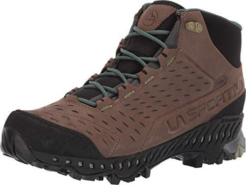 La Sportiva Pyramid GTX Hiking Shoe, Mocha/Forest, 47.5