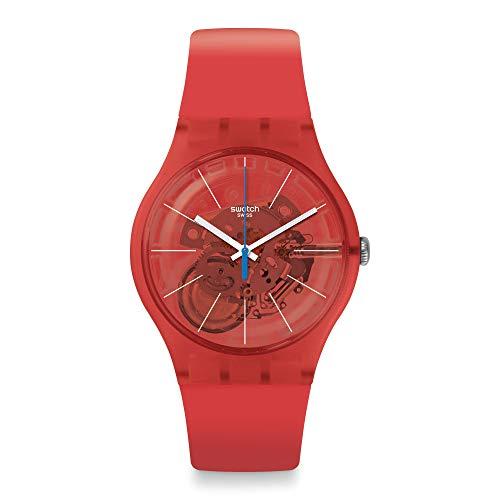 Reloj Swatch New Gent SUOO105 Bloody Orange