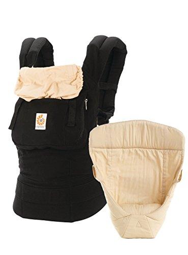 Ergobaby Original Bundle of Joy Baby Carrier Black Camel