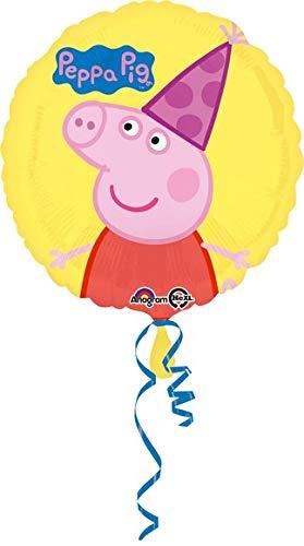 ILS I LOVE SHOPPING Pallone Foil 42cm Multicolore per Festa Compleanno (Peppa Pig, Pallone Foil Palloncino)