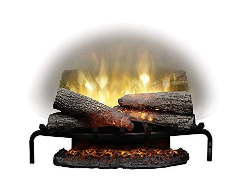 """DIMPLEX Revillusion 25"""" Plug-In In Electric Fireplace Log Set Model: RLG25), 120V, 1500W, 12.5 Amps Black"""