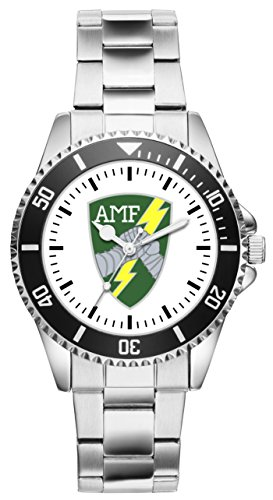 KIESENBERG Uhr - Soldat Geschenk Bundeswehr AMF ACE Mobile Force Canada Abzeichen Emblem Wappen 1017