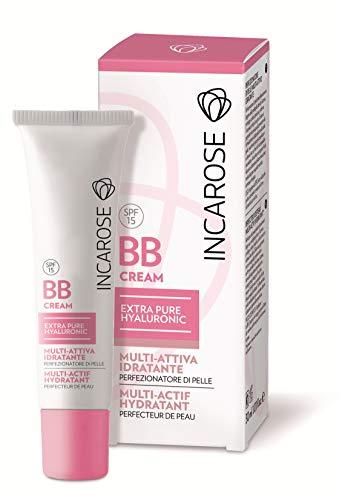 Di-Va Incarose Bb Cream Hyaluronic, Trattamento Colore Medium - 40 g