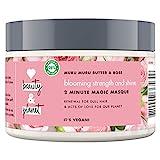 Love Beauty And Planet Blooming Strength und Shine Haarmaske, für strapaziertes Haar Murumuru Butter und Rose...