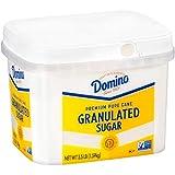Domino Granulated Pure Cane Sugar, 3.5 LB Easy Baking Tub