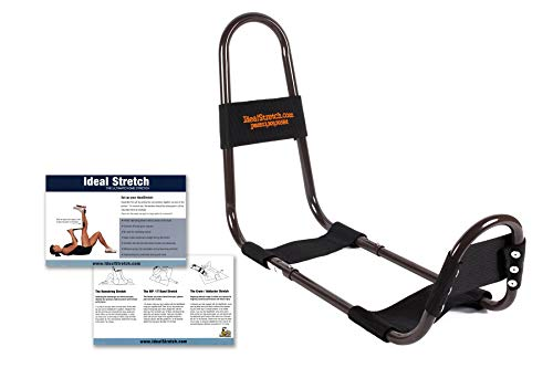 IdealStretch Original Hamstring Stretching Device with Instruction Card - Ideal Leg Stretcher, No Need for A Stretching Partner, Maintains Proper Hip Orientation - Patented Leg Stretching Machine