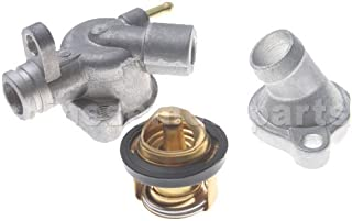 GOOFIT Thermostat Assy for Honda Helix CN250 Elite CH250 Hammerhead Baja 250 Water-cooled 250cc ATV Scooter