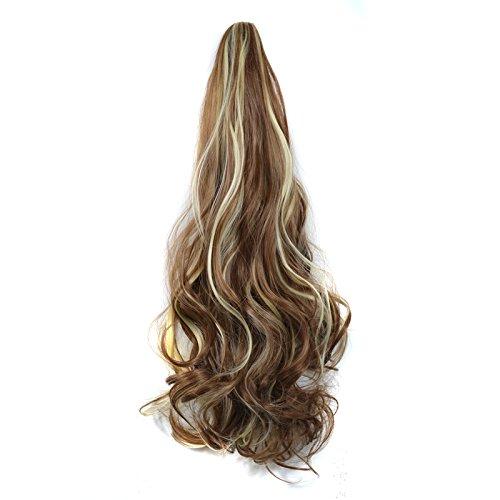 Rallonges de cheveux bouclés à clips - 150 g (12H613) - 56 cm