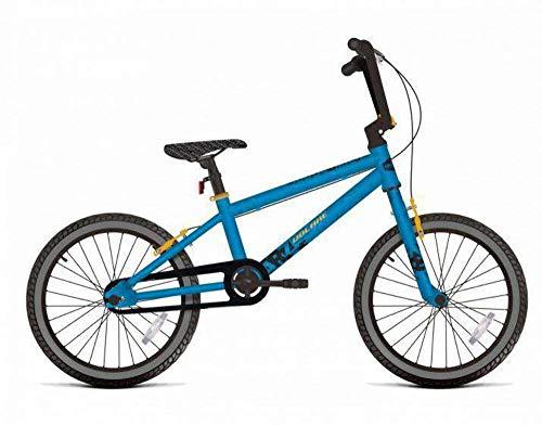 Kinderfahrrad Jungen 16 Zoll Cool Rider Bremsen am Lenker Blau 95% Zusammengebaut