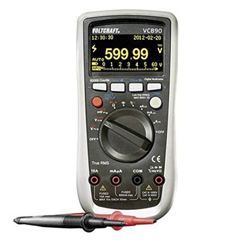 VOLTCRAFT VC890 OLED Hand-Multimeter digital OLED-Display, Datenlogger CAT III 1000 V, CAT IV 600 V Anzeige (Counts): 6