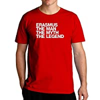 Eddany Erasmus the man the myth the legend Left Aligned - Tシャツ