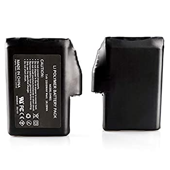 BARCHI HEAT Accessoires de Batterie Rechargeable de 7.4V 2200MAH pour des Gants, des Chaussettes, des Chapeaux Chauffants