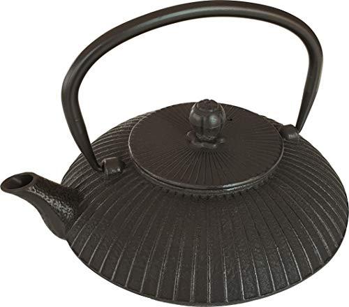 Japanische Teekanne aus Gusseisen mit Sieb | verschiedene Teekessel Modelle Eisenguss, Keramik, Steingut | Japan Kanne, asiatisch, chinesisch, Eisen, Japanese Cast Iron Teapot für Tee Guss schwarz